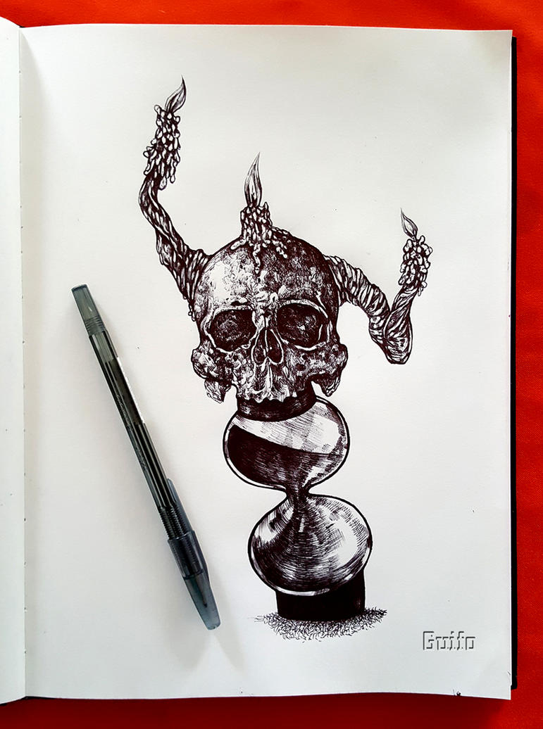 Waiting in vain-Tattoo Design by NeoXVl