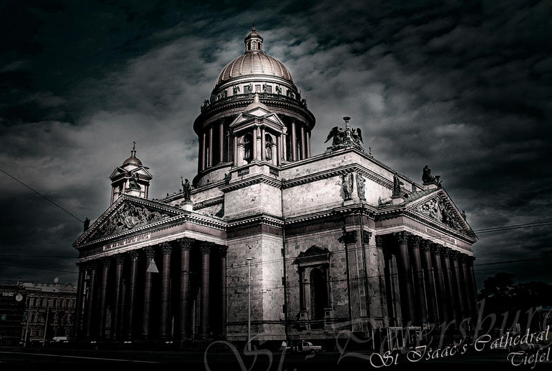 St Isaac's Cathedral by tiefel