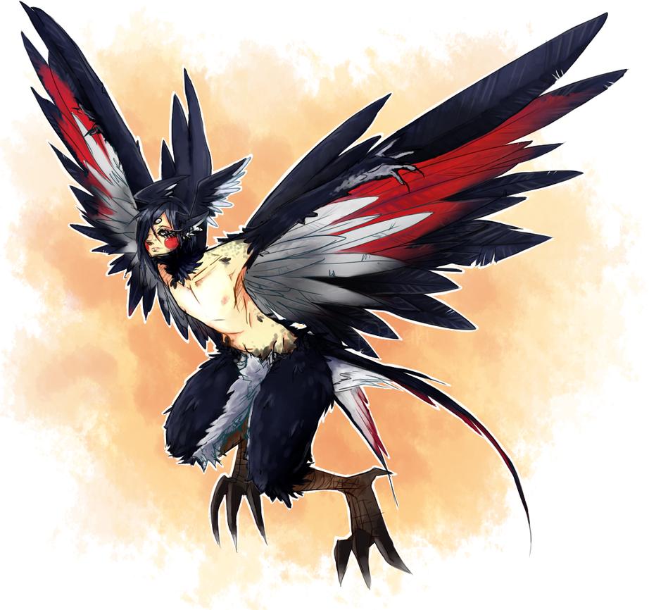 Random Harpy_30daychallange_1_monsterboy_by_reiki_kun-d5uo6c4