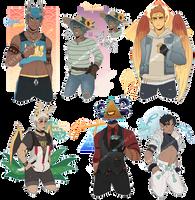 [Adopt $] Monster Boys #2 [CLOSED] by Reiki-kun