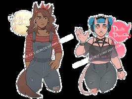 [Adopt $] Monster girls [CLOSED] by Reiki-kun