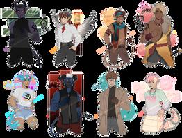 [Adopt $] Monster Boys #3 [CLOSED] by Reiki-kun