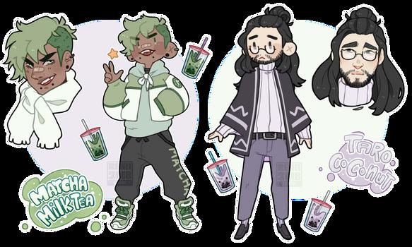 [Adopts $] Bubble Tea Babes [CLOSED]