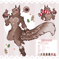 [ Tytoninx Advent ] Gingerbread [ Auction |CLOSED] by Reiki-kun
