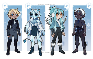 [Adopts $] Stay Frosty [ CLOSED ] by Reiki-kun