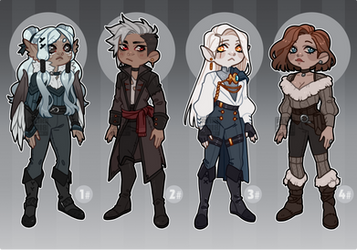 [Adopts $ ] P - All i see are Rogues [CLOSED] by Reiki-kun
