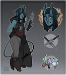 [ Adopts $ ] Tiefling [AUCTION | CLOSED ]