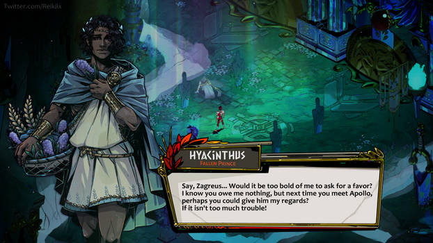 [HADES] Fake screenshot - Hyacinthus