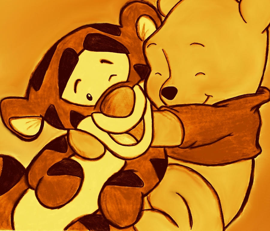 Baby Tigger and Pooh by acid-drinkerBaby Winnie The Pooh And Tigger