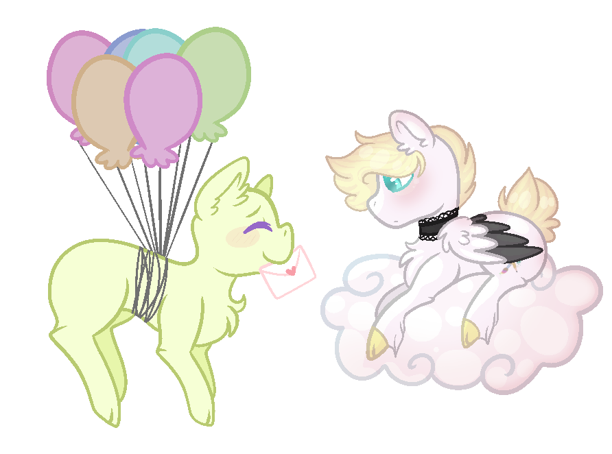 Letters for ColorPainter COLLAB BASE by KittieBases