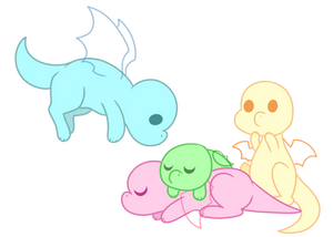 Dragon babies BASE