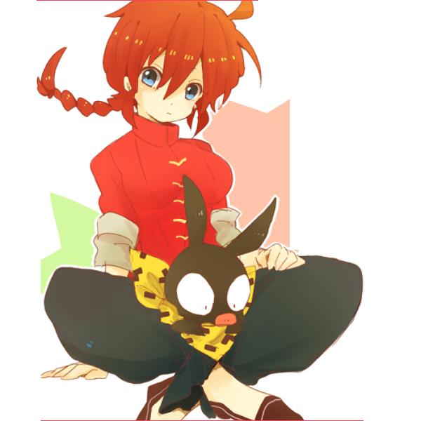 Ranma Saotome (Girl) by DarkAerix