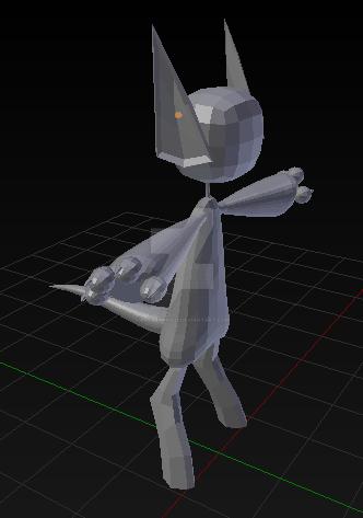 Yonai 3d Model by ProxyPony32