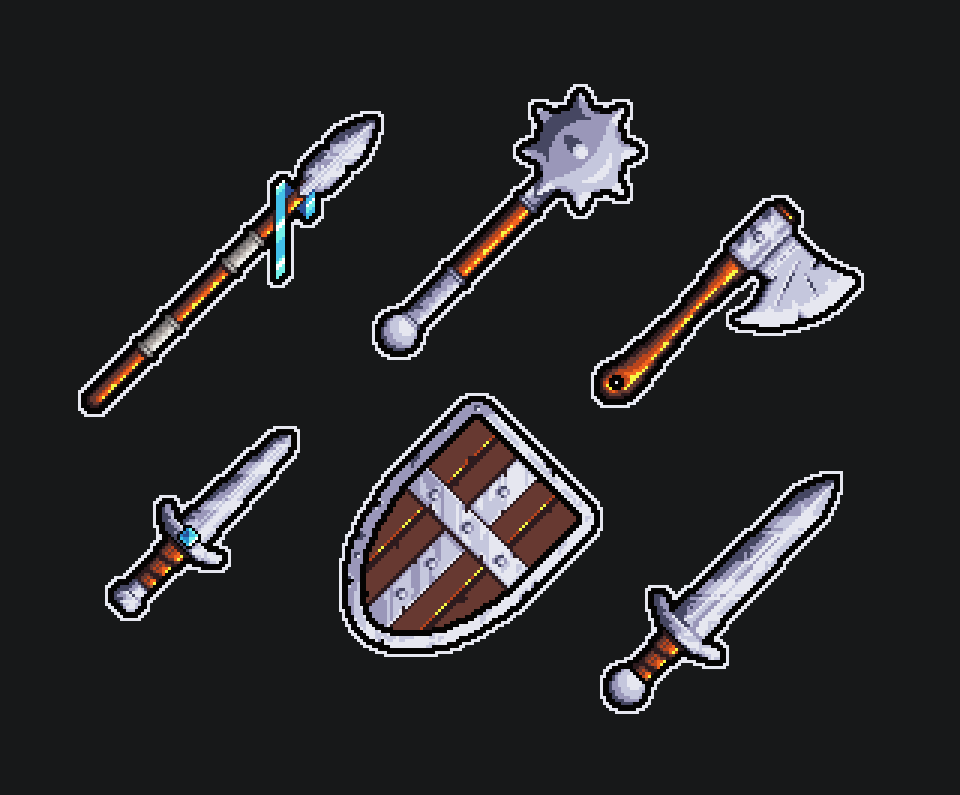 Medeival weapons