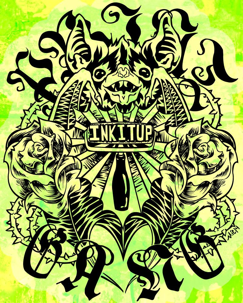 Print Gang T-shirt Design by revonthem