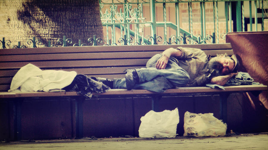 Mysterious Homeless Man by PrestigeGraphics