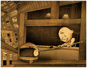 it's a strange day, Charlie Brown by CapnDeek373