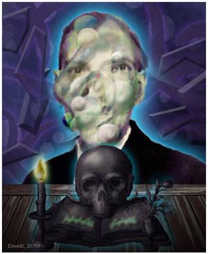 H P  Lovecraft by IrenHorrors on DeviantArt