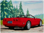 little red corvette by CapnDeek373