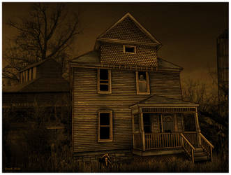 the house with the warped floor by CapnDeek373