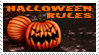 Halloween Rules stamp