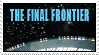 The Final Frontier stamp