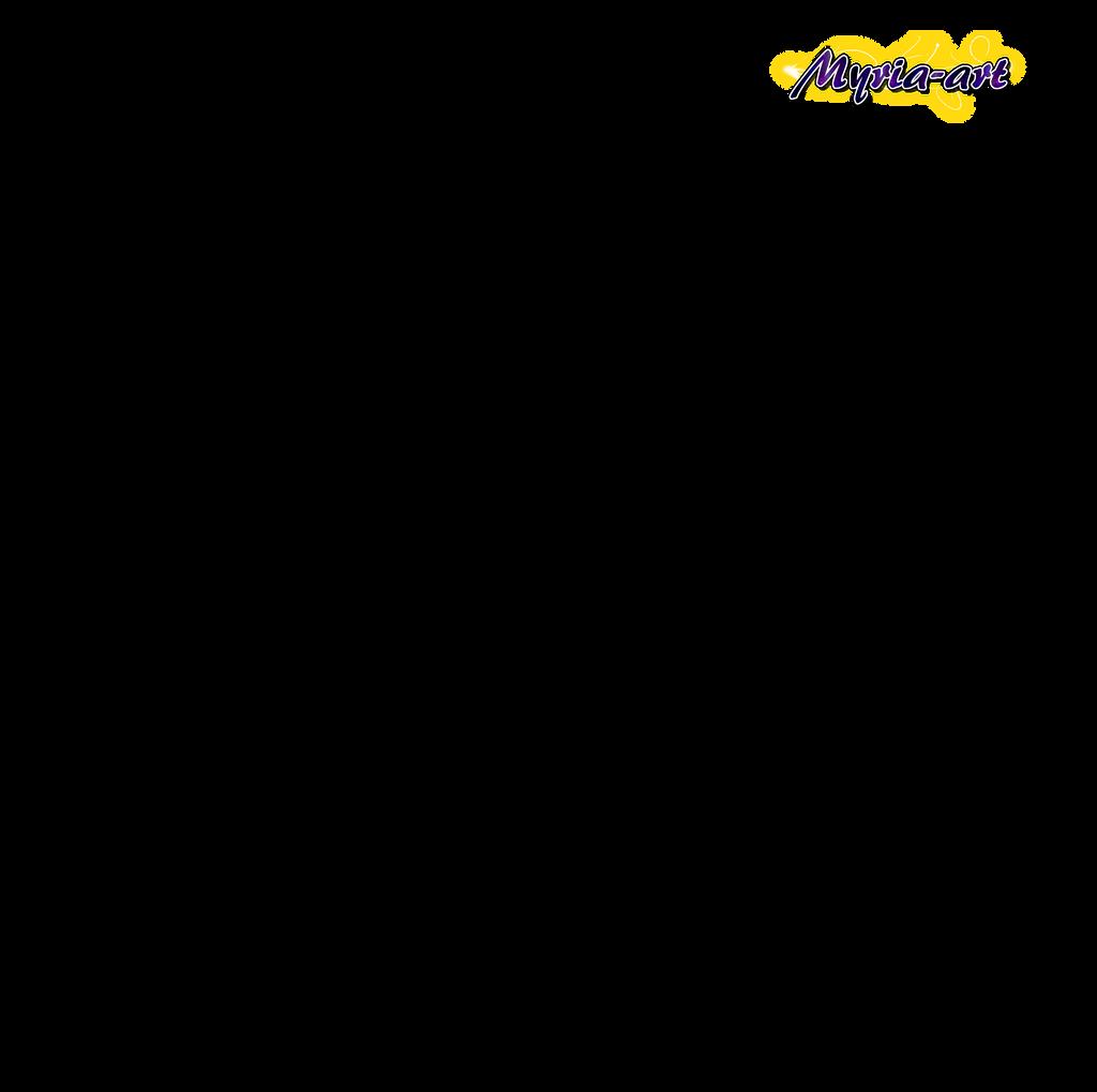 Dragon Ball Z Lineart : Dragon ball z goku lineart by myria art on deviantart