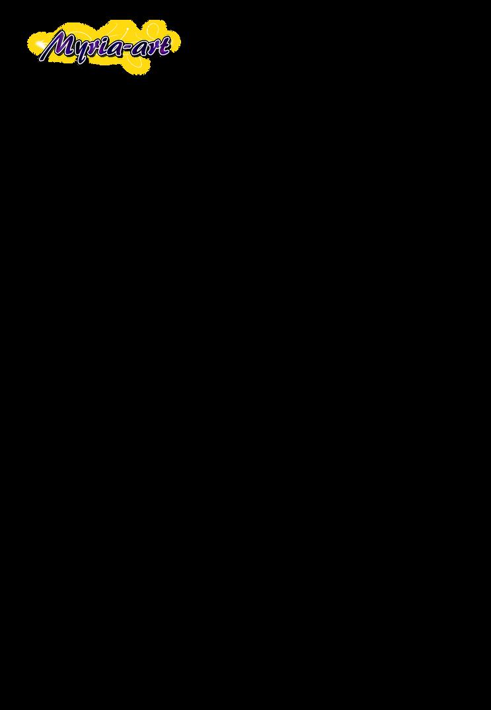 Moka Akashiya [lineart] by Myria-Art