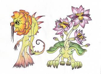 Mutant Flowers 001 by LittleMii3