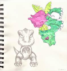 Gon - Pokemon by LittleMii3