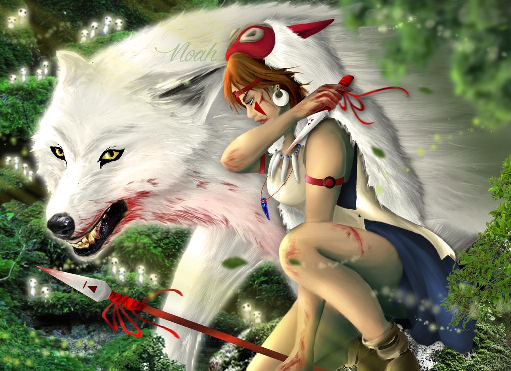 ~ SAN and MORO ~ by Noah-Margera