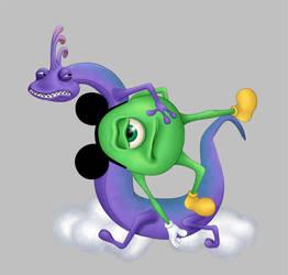 I'll hide my Mickey well