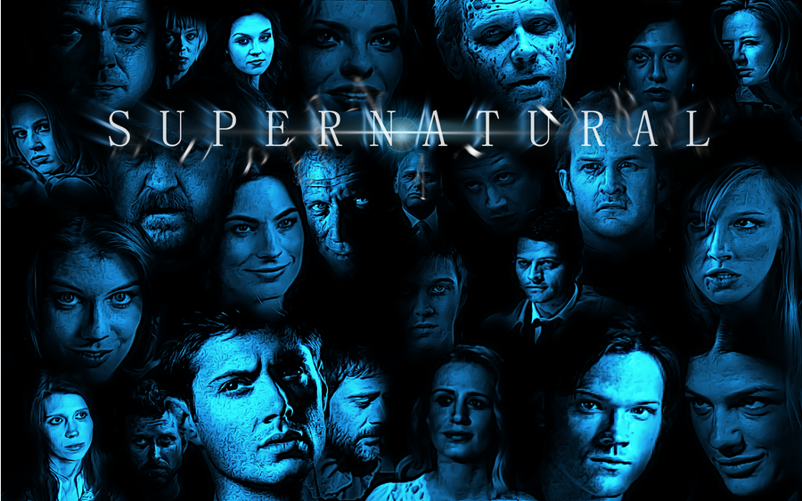 Blue Supernatural Wallpaper by Comicfan2000 on DeviantArt