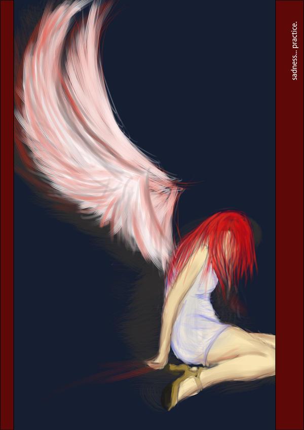sadness... practice. by Mplius