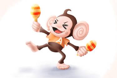 Super Monkey Ball by Maka-Hime-Tenshi