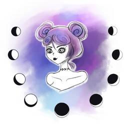 Choker Lunar by Maka-Hime-Tenshi