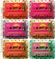 Disney Cassette. by bcrayon