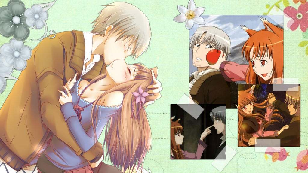 Lawerence And Holo - Spice And Wolf by KrystalsDarkKiss