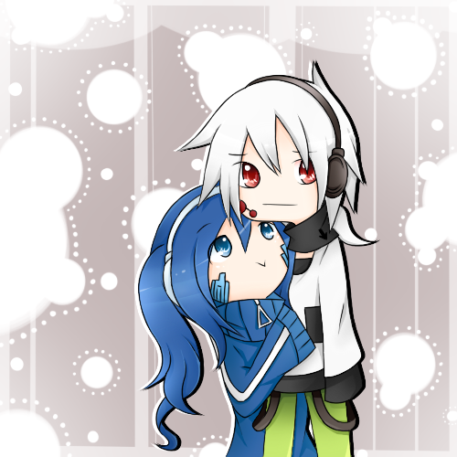 Konoha and Ene Please by HgOtD