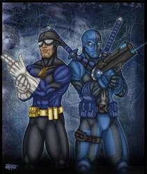 Johnny Turbo-Liquid Zero duo by Dan Lynam by CaptainRon023