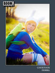 Courtoon Fionna Adventure Time Card by CapnCarrot