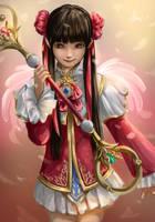 Dynasty Warriors 8 - Da QIao by LCFxAlvin
