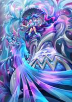 Zodiac of Aquarius by LCFxAlvin