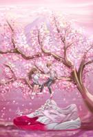 Sakura Project Puma - Ronnie Fieg by LCFxAlvin