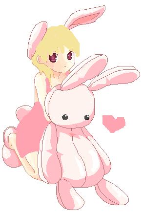 Cute Anime Rabbit Cute Bunny anime by cu...