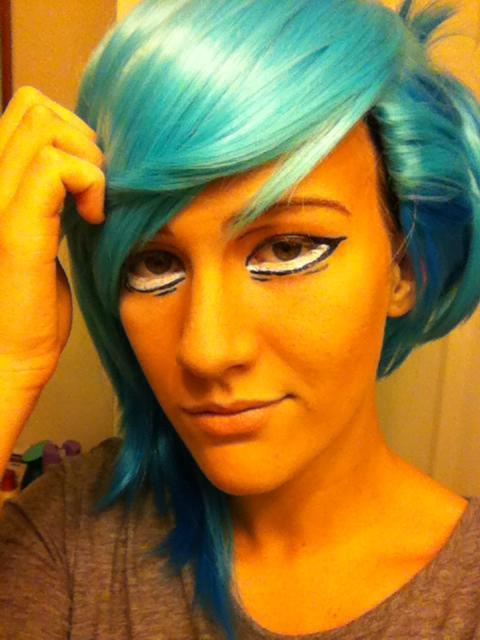 Anime eye makeup cosplay #2 by cuttie687 on DeviantArt