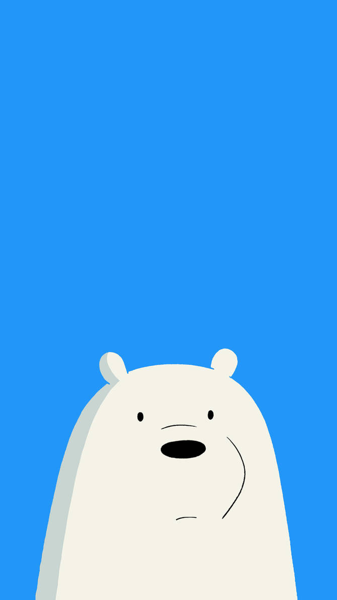 We bare bears icebear mobile wallpaper 1080x1920 by affentoast on deviantart - We bare bears background ...