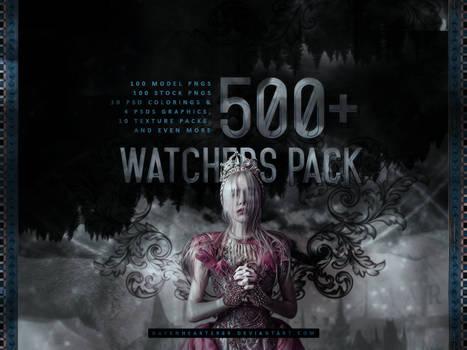 +500 Watchers Pack