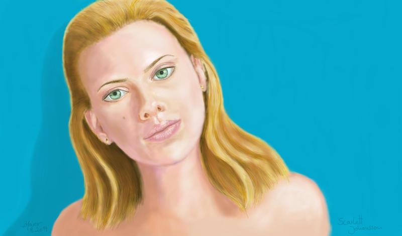 Scarlett Johansson by senornico