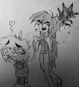 Lilith Torturing Shaun